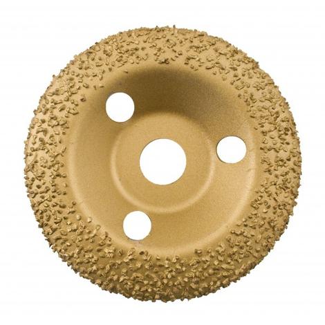 EDMA - Disque abrasif bombé Abradisc - Diam 125 mm