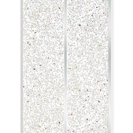 Edra PVC Panel Grey Galaxy Silver Cladding 2700mm X 200mm x 6mm (Pack Of 5)