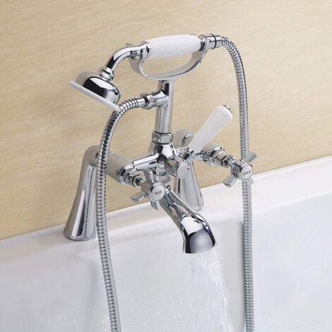 EDWARDIAN BATH SHOWER MIXER TAP