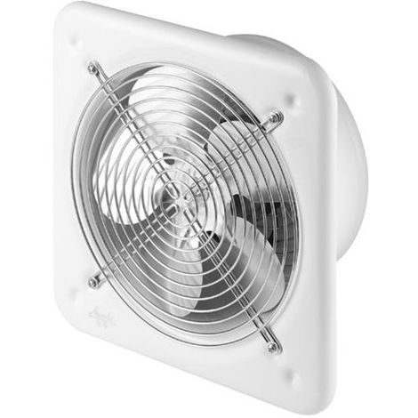 Effective Power Industrial Wall Extractor Axial Fan Air Exchanger 200mm Diameter