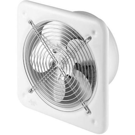 Effective Power Industrial Wall Extractor Axial Fan Air Exchanger 250mm Diameter