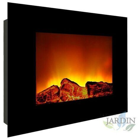 Effet flamme de cheminée murale électrique 1800W