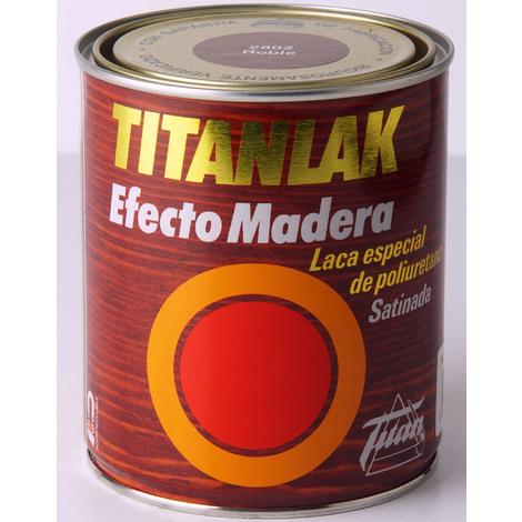 Effetto legno laccato Titanlak