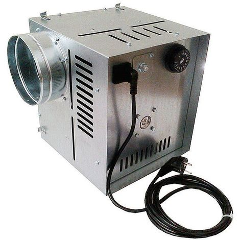 Efficient Indoor Hot Air Flow Ventilator High Temperature Distributor 400m3/h