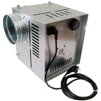 Efficient Indoor Hot Air Flow Ventilator High Temperature Distributor 400m3/h