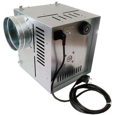 Efficient Indoor Hot Air Flow Ventilator High Temperature Distributor 800m3/h