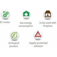 Efficient Ventilator Energy Saving Hot Air Distribution Set Distributor 1000m3/h