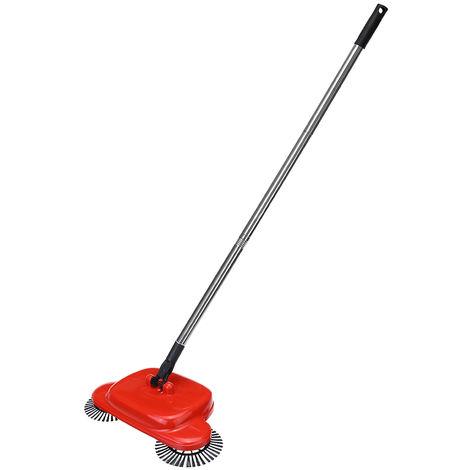 Effortless Mechanical Sweeper 360 ¡ã Rotary Sweep Red Ergonomic Handle Hasaki