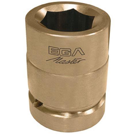 Egamaster Llave vaso 1//2 32mm hexagonal cromo pulido espejo