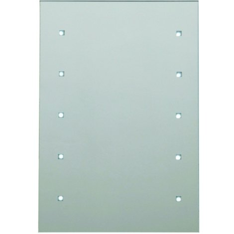 "main image of ""Egeria 300mm x 450mm Battery Operated Illuminated 10 LED Mirror"""
