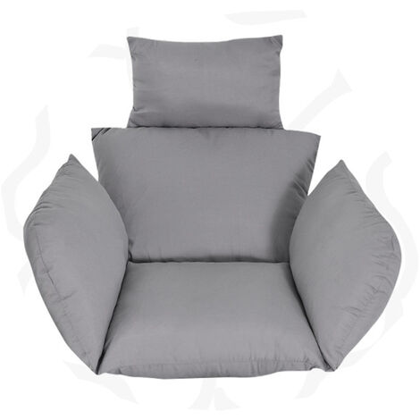 """main image of """"Egg Chair Seat Pad Pillow Swing Chair Cushion Patio(gray Only 1PCS Cushion)"""""""