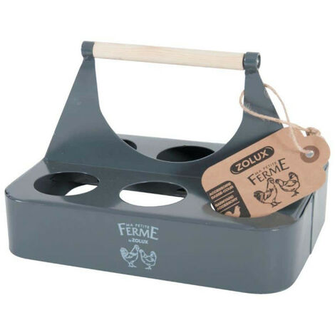 Egg holder ZOLUX - Metal - Grey - 175651