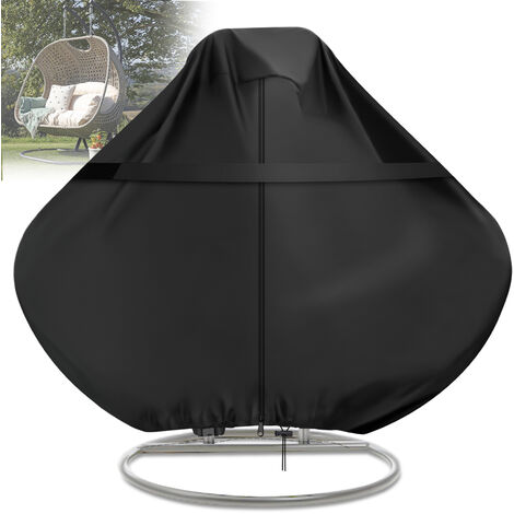"""main image of """"Egg Swing Chair Cover Anti-UV Waterproof Outdoor Garden Furniture Protector"""""""