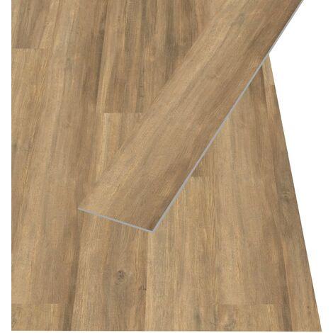 Egger Planches de plancher stratifié 74,4 m² 7 mm Brown Ampara Oak