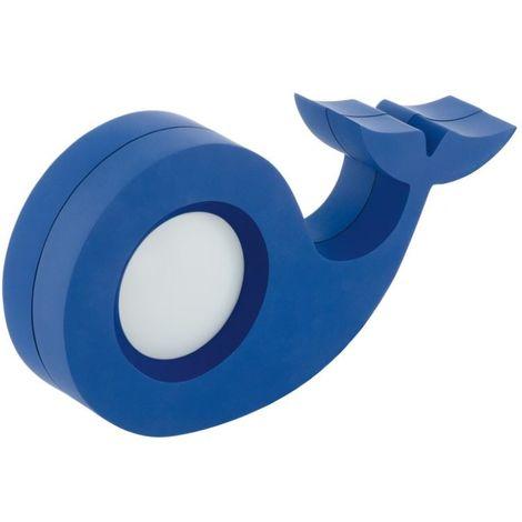 EGLO Children'S Plastic Blue New Design Led Table Lamp For Kids Bedroom Corner