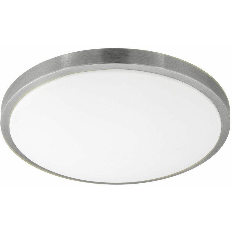Image of Competa 1 Satin Nickel LED Wall-Ceiling Light 24W Warm White - 96034 - Eglo