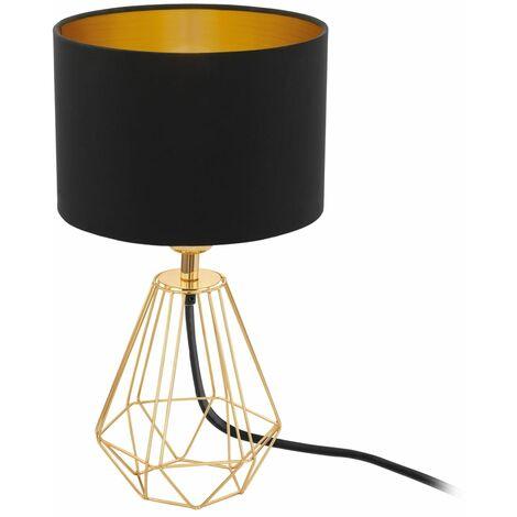 EGLO Lámpara de mesa Carlton 2 dorado