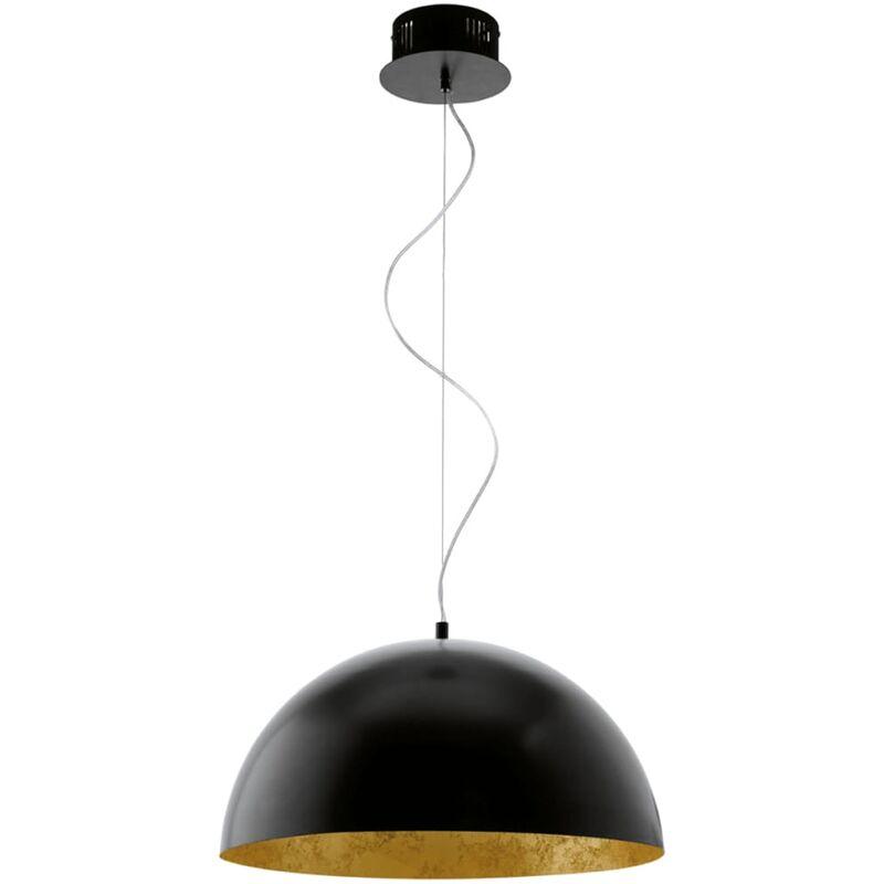 EGLO LED Pendelleuchte Gaetano Schwarz/Gold 94228