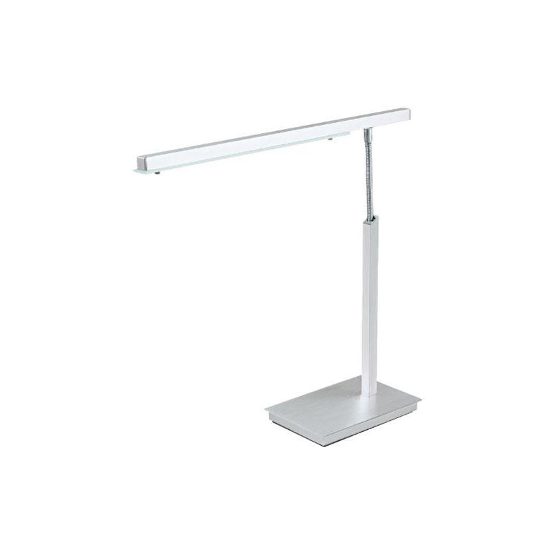 EGLO PAN lampada da tavolo Alluminio, Bianco 4,5 W LED