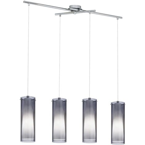 EGLO Pendellampe Pendelleuchte Hängeleuchte Lampe Hängelampe Pinto Nero 90306