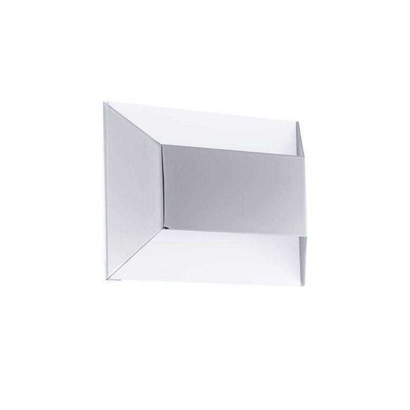 EGLO SANIA 1 illuminazione da parete Adatto per uso interno Argento, Bianco 4,76 W [Classe di efficienza energetica A]