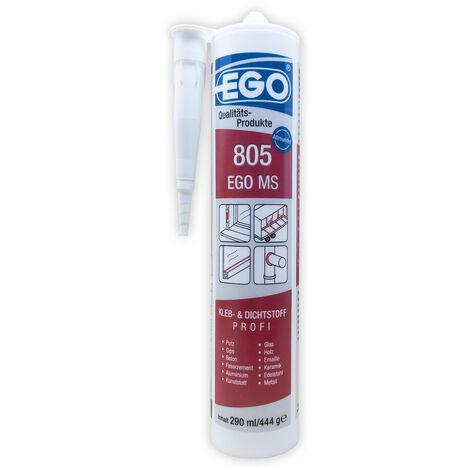 EGO 805 MS Polymer Kleb- & Dichtstoff, hellgrau 290ml