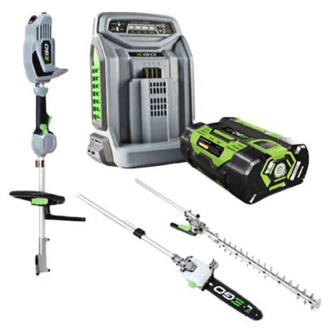 EGO Power Multifunktionswerkzeug-Set (MHCC1002E) + Kits
