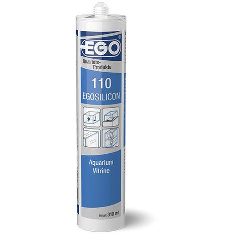 EGOSILICON 110 Aquarium-Silikon, transparent 310ml