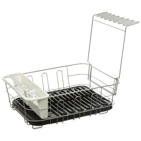 Égouttoir à vaisselle amovible Neo noir