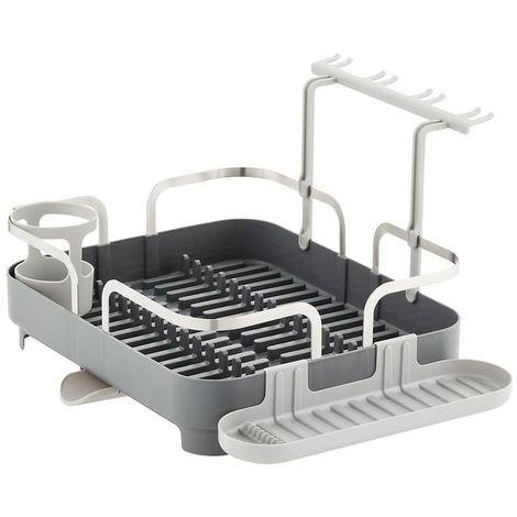 Egouttoir à vaisselle avec accessoires amovibles
