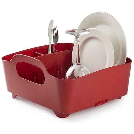 Egouttoir à vaisselle avec poignées de transport