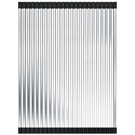 Egouttoir déroulant Rollmat L Inox - 315x426x9 mm - Franke 498116