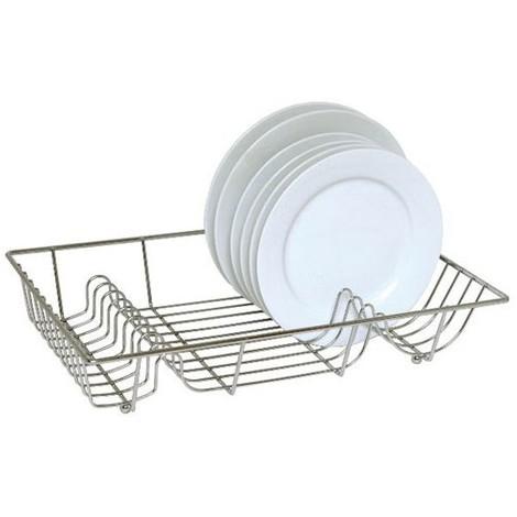 Egouttoir vaisselle plat 48x36x10cm - chromé