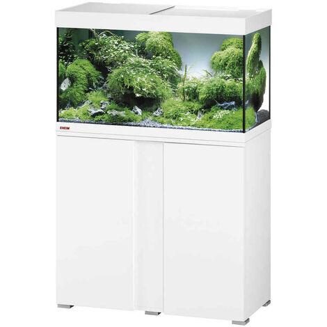 Eheim - Aquarium Vivaline LED de 126L avec Meuble - Blanc