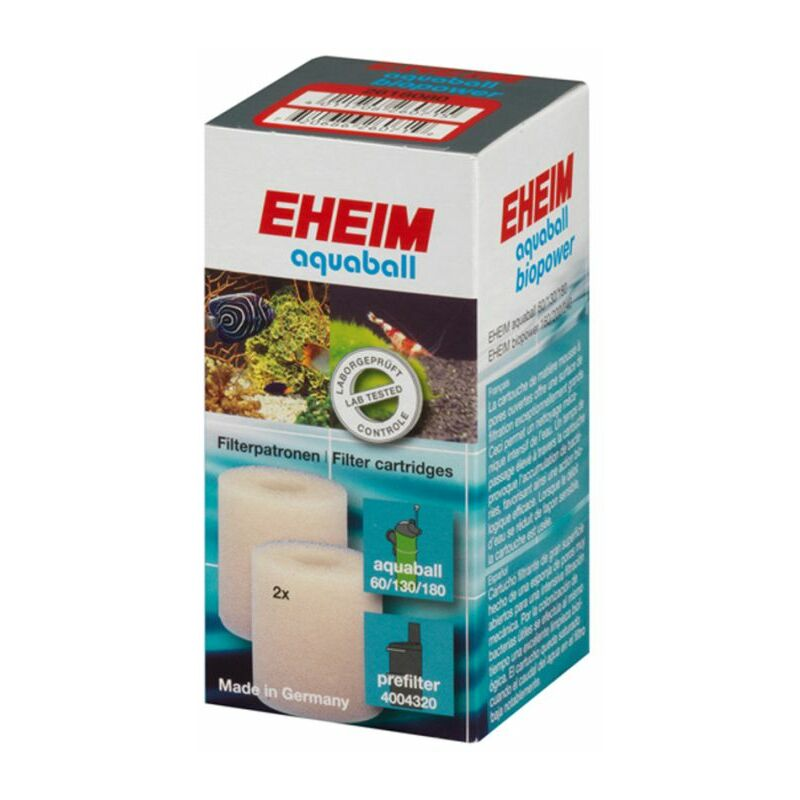 cartouches filtrantes (pour Aquaball) - Eheim