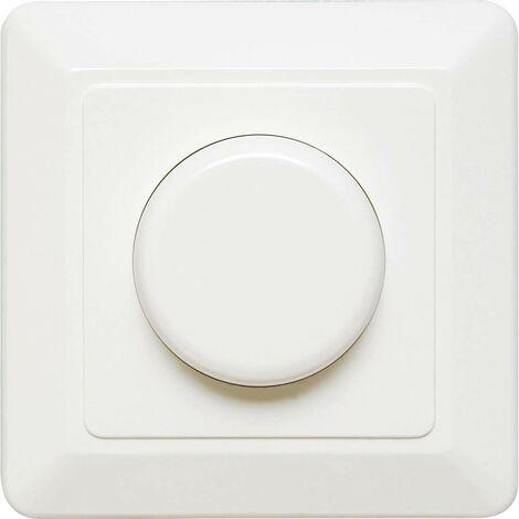 Ehmann 4660c0800 Dimmer da incasso Adatto per lampadina: Lampadina LED, Lampadina ad incandescenza, Lampadina alogena