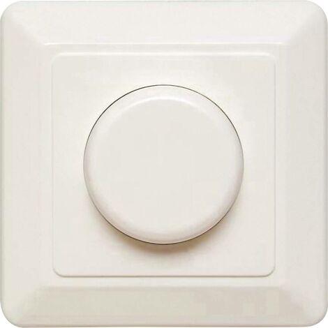 Ehmann T46.03 Dimmer da incasso Adatto per lampadina: Lampadina LED, Lampadina a risparmio energetico, Lampadina ad inc