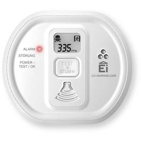 EI Electronics Kohlenmonoxid (CO) Warnmelder Ei208D mit LCD-Display