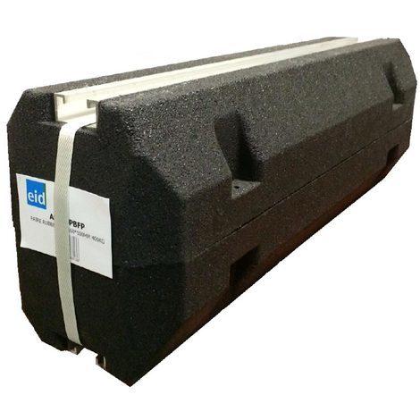 eid as600pbfp | paire de support de sol rubber eid 600mm 400kg