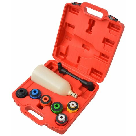 Eight Piece Engine Oil Filler Set