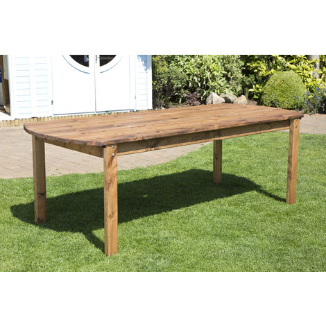 Eight Seater Rectangular Table, fully assembled garden furniture