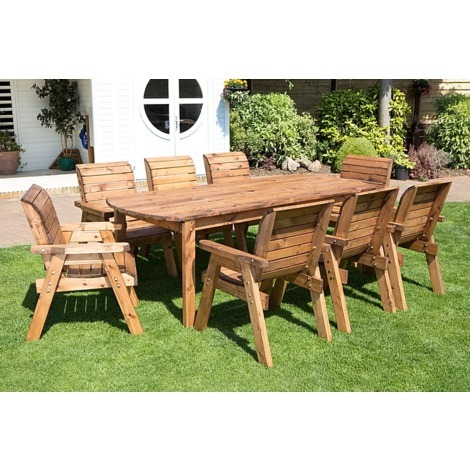 Eight Seater Rectangular Table Set HB17