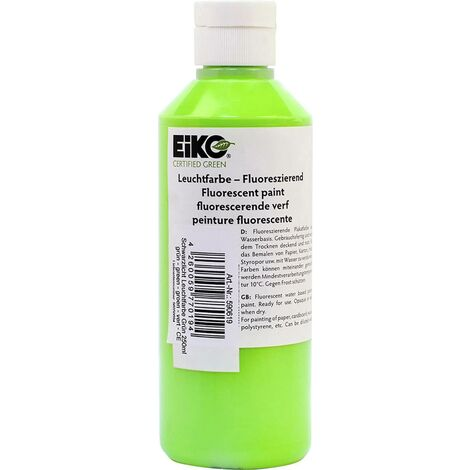 EiKO UV-Leuchtfarbe Grün 250ml S07890