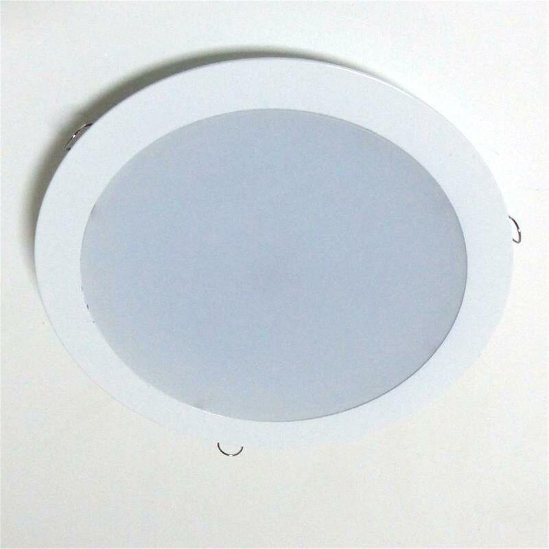 Einbauleuchte 24 Watt LED Downlight Panel Weiß Rund - ZIELO