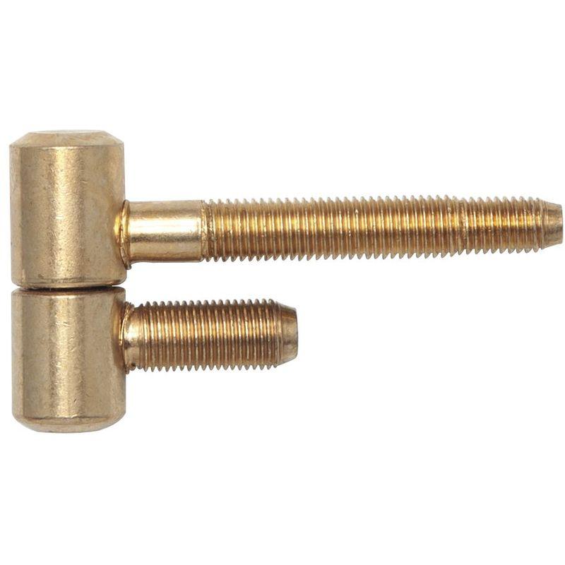 SECOTEC Drückerführungen für 18 mm Ansatz Kunsstoff braun 4 Stück