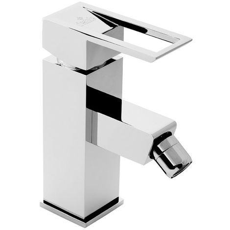 DEANTE ANEMONE Chrom Schwarze Bidetarmatur Badarmatur Bad Wasserhahn für Bidet