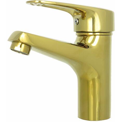 einhebelmischer waschbecken waschtisch armatur design gold