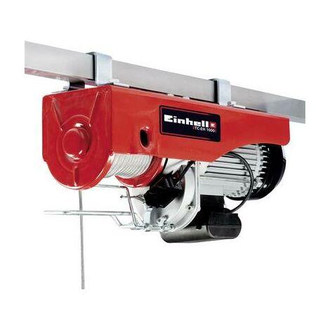 Einhell 2255160 Housse de câbles Einhell TC-EH 1000 Capacité de charge (avec poulie) 999 kg Capacité de charge (sans po