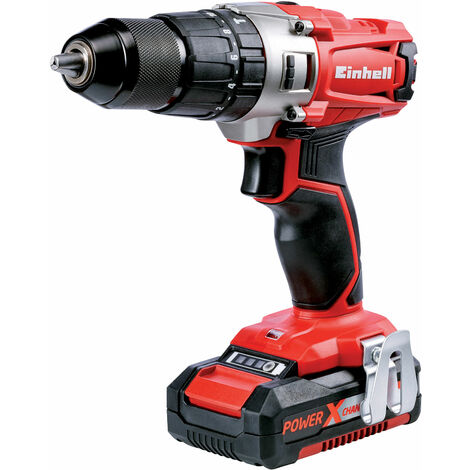 Einhell 4513834 TE-CD 18/2 Li Power X-Change Combi Drill 18V 2 x 1.5Ah Li-ion