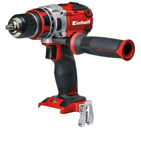 EINHELL 4513850 - Taladro Atornillador Brushless 18 V, 2 velocidades, 60 Nm, luz LED solo maquina TE-CD 18 Li
